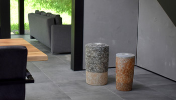 Westerwälder stoneware clay in salt firing: Vessel objects and art-in-architecture