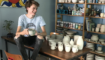 Interview with Calder - Calder's Ceramics